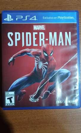 Marvel's spiderman PS4 (con poco uso) (VENTA SOLO EN PRECENSIAL)