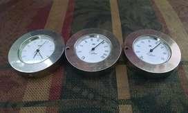 Reloj de Mesa y Termómetro