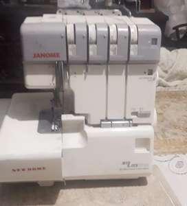 Maquina fileteadora janome Mylock 634D. 2 agujas 2-3-4 hilos