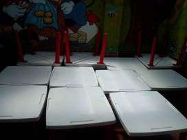 Mesas y sillas jardin infantil