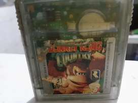Donkey kong country game boy colors
