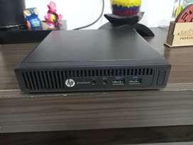 HP elitedesk 705  G3 mini