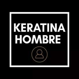 Keratina/alisado para hombre a domicilio