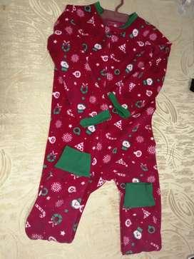 Vendo hermosa pijama enteriza motivo navideño babyfresh