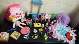 Lote de Juguetes para Nena Ponys Y Más