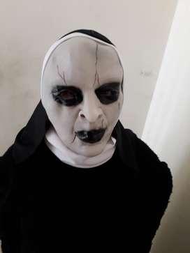 Mascara de La Monja en Gel Halloween