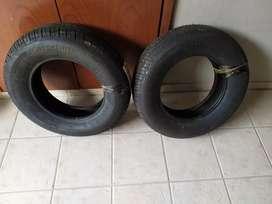 2 neumáticos 195 70 r14