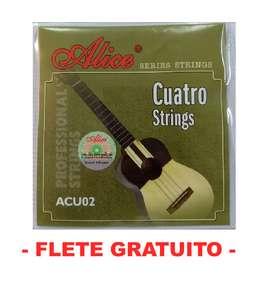 CUERDAS CUATRO ACU02 ALICE
