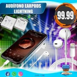 Audifono Earpods Lightning Para iPhone
