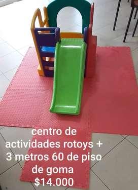 Vendo piso de goma eva mas centro de actividades