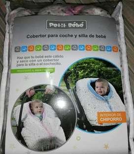 Cobertor para Coche Y Silla de Bebe