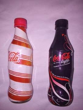 Botellas Cocacola edición limitada-- dos botellas 2005 y 2007