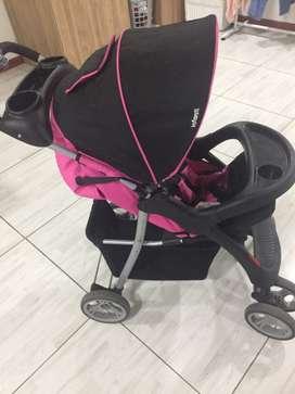 Coche INFANTI PARA NIÑA + silla para carro