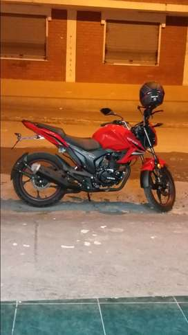 vendo moto nuevo