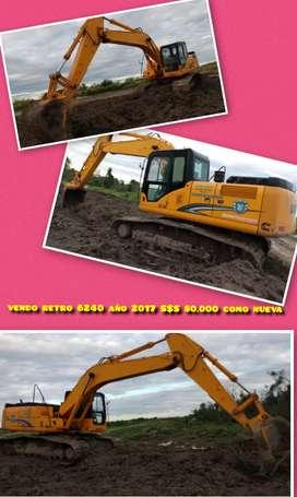 Excavadora 6225 lonking