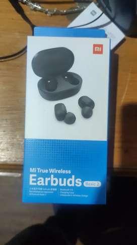 Vendo audifonos bluetoht Earbuds xiaomi basic 2