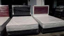 Colchónes y cama base todas las medidas