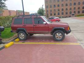 Camioneta Jeep modelo 1993