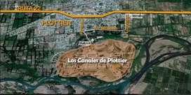 Los canales de Plottier. Lote en venta