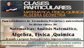 clases de fisica para secundario y universidad
