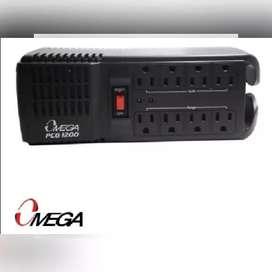 ESTABILIZADOR OMEGA ORIGINAL 8 TOMAS 1200 PCG 250W