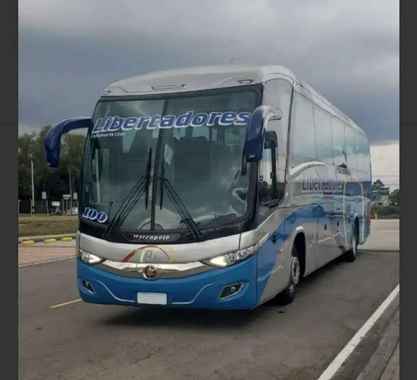 BUS Mercedes-Benz RS 1836 CON MARCOPOLO NEW G7 42 + BAÑO ENTREGA INMEDIATA.