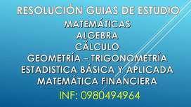 GUIAS ESTUDIO UNIVERSIDADES