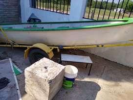 Canoa pescadora Lerch