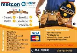 Construcción, Remodelaciones, Electricidad, Civil, Drywall, Soldadura, Pintura, y Otros