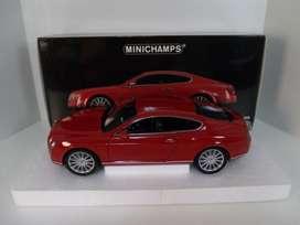 MINICHAMPS Bentley continental gt 2008