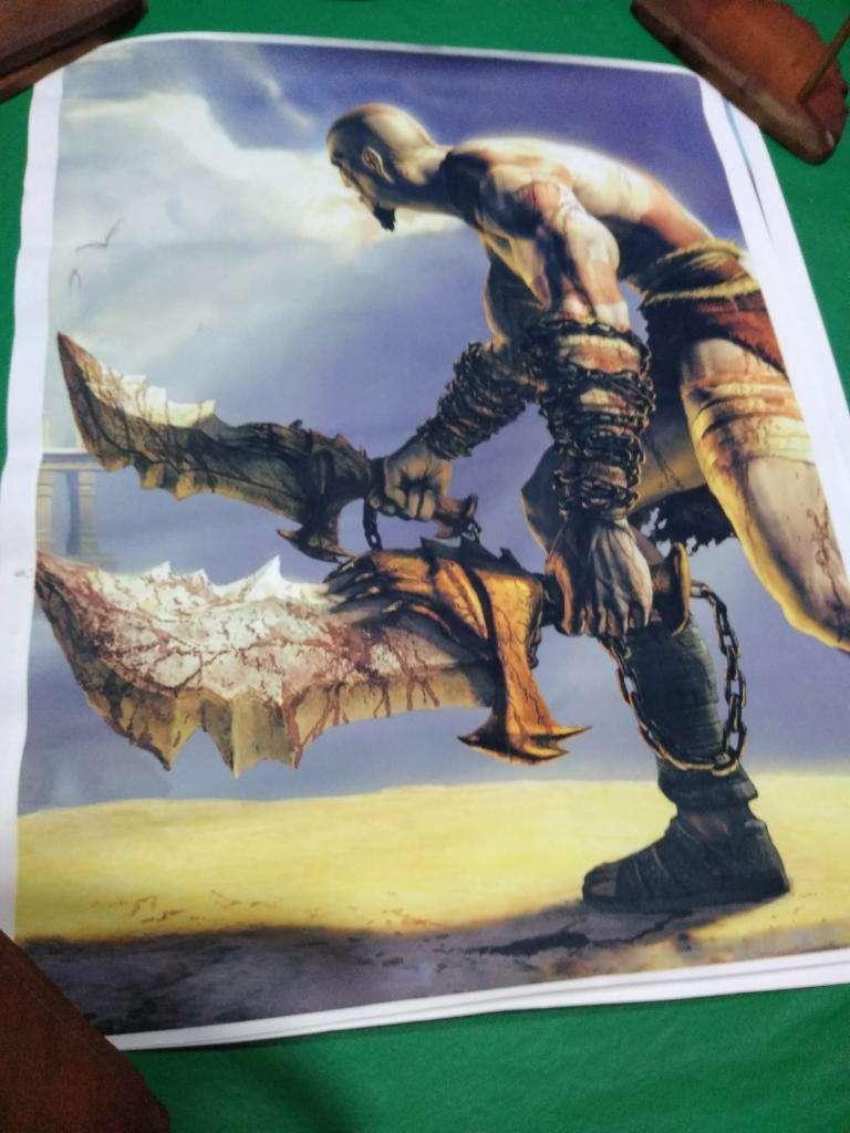 Poster Katos God Of War de 50 X 60 Cm 0