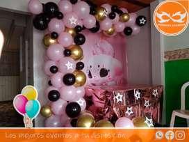 arcos en globos personalizados o según temática a domicilio por Bogotá