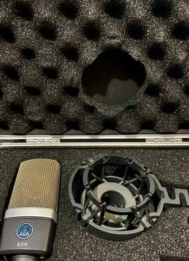 microfono condensador AKG C214