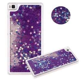 Funda Huawei P8Lite Glitter Liquida
