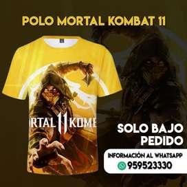 Mortal Kombat 11 polo a pedido