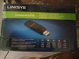 P-AE1200 Resultados de la Web Adaptador USB inalámbrico N300 Wireless-N Linksys AE1200