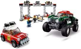 481 pzs - Auto lego - Autos Armable - Pista Carreras legos