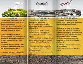 TOPOGRAFÍA con Drones; Ortofotos; Ortofotografía; Georreferenciación; Posicionamientos, Modelo digital del terreno