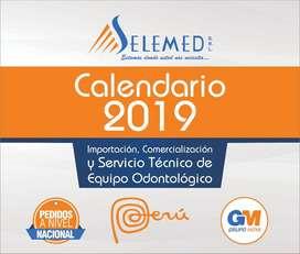 Diseño de calendarios corporativos 2020