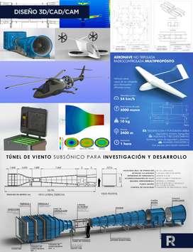 Asesorías de Dibujo Técnico, Diseño CAD CAM y 3D
