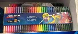 Kit de pintura,colores y plumones a la venta