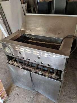 Freidora industrial acero inoxidable