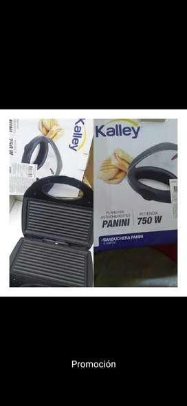 Sanduchera Kalley 750w