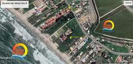 Venta de terrenos frente al mar en Playas Villamil, via a Posorja 3.686 mts