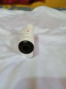 Cámara Sony 4K con estuche acuático
