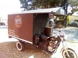 Carro estilo FOOD TRUCK (motocarga)