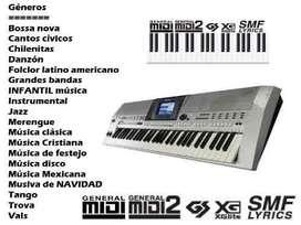 SECUENCIAS MIDI ALVARO VINUEZA
