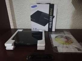 Samsung Escritor Slim Dvd Portátil Modelo Se-208 Negro