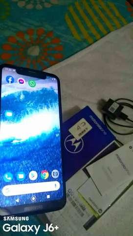 Vendo celular Motorola one con caja y papeles nuevo Negociable