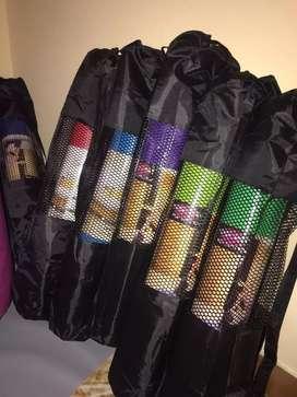 Mats de yoga con bolso nuevos distintos colores